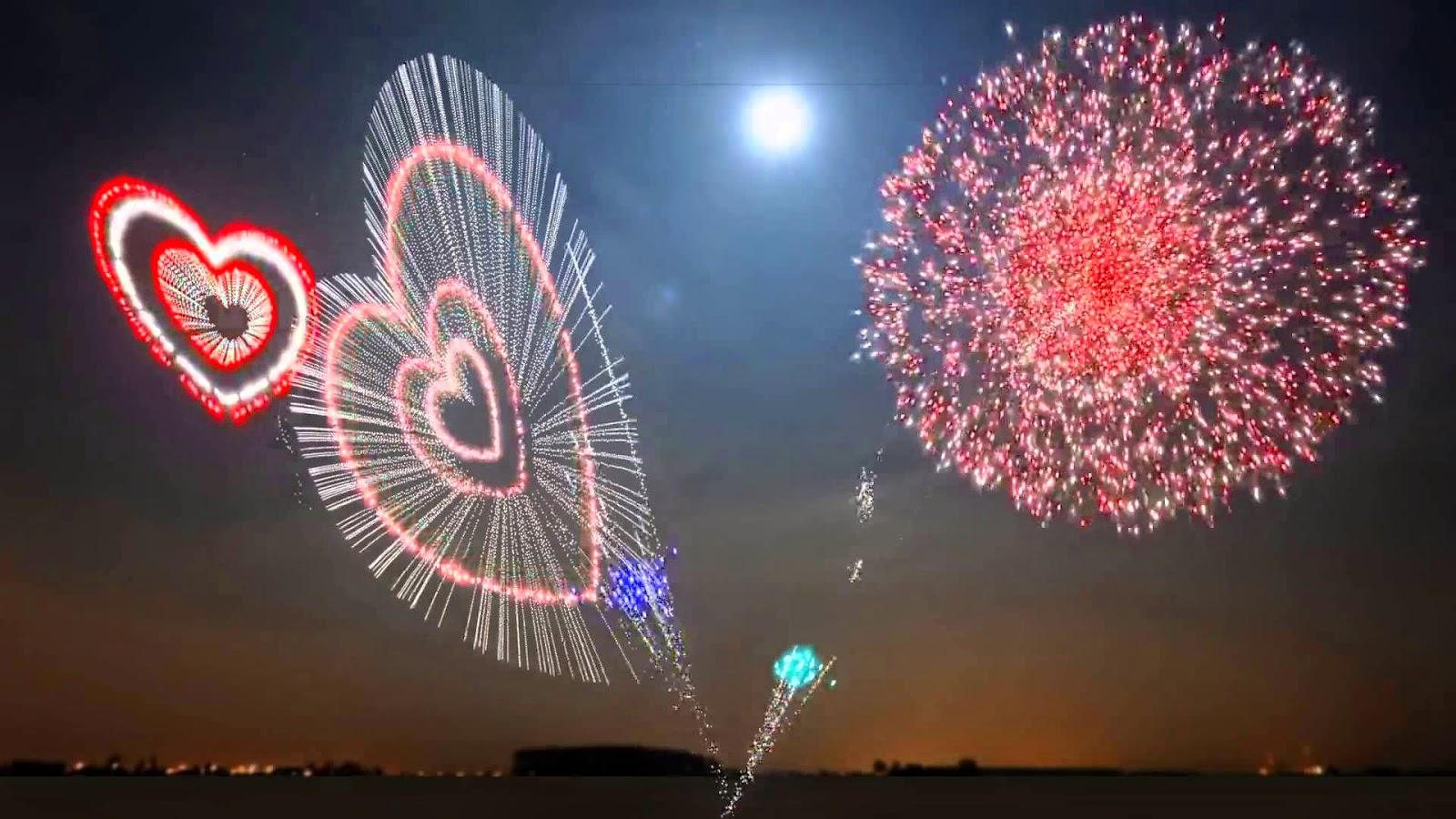 xem hình bắn pháo hoa cực đẹp