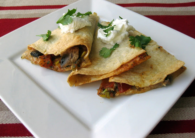 Cooking with Corey: Recipe #355: Vegetable Quesadillas