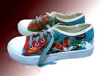 Sepatu Lukis Kupu Cowok Rp 125 000,sepatu lukis,sepatu lukis cowo,sepatu lukis cowok,sepatu,lukis