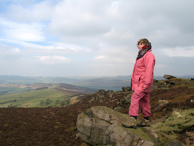 Rachel in the Peak District (2007) © regencyhistory.net