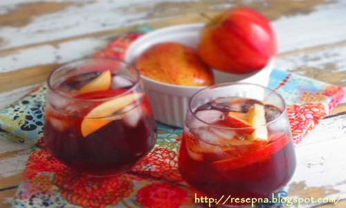 Resep Minuman Buka Puasa : Apple Cinnamon Iced Tea