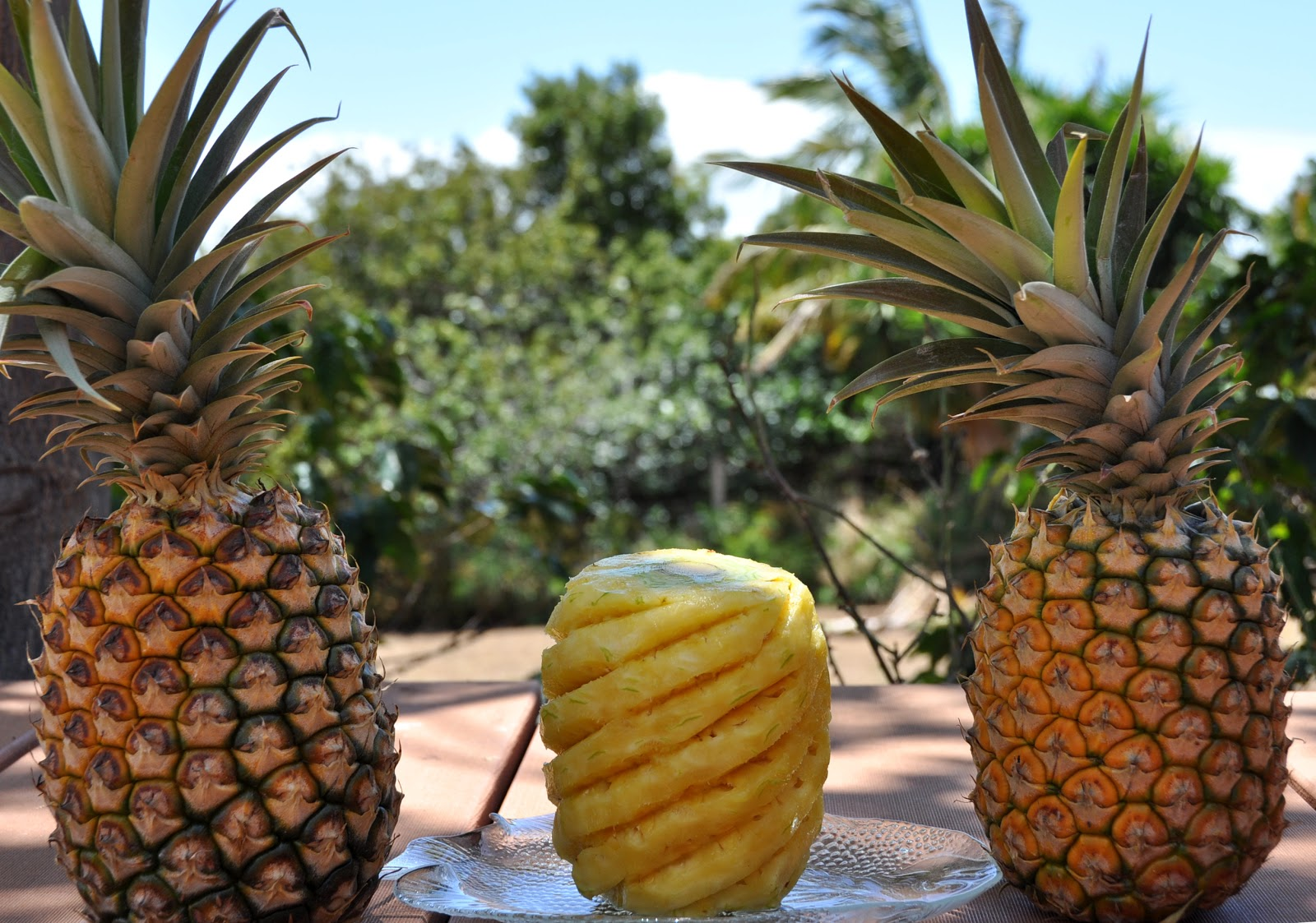 foto How To Prepare A Pineapple