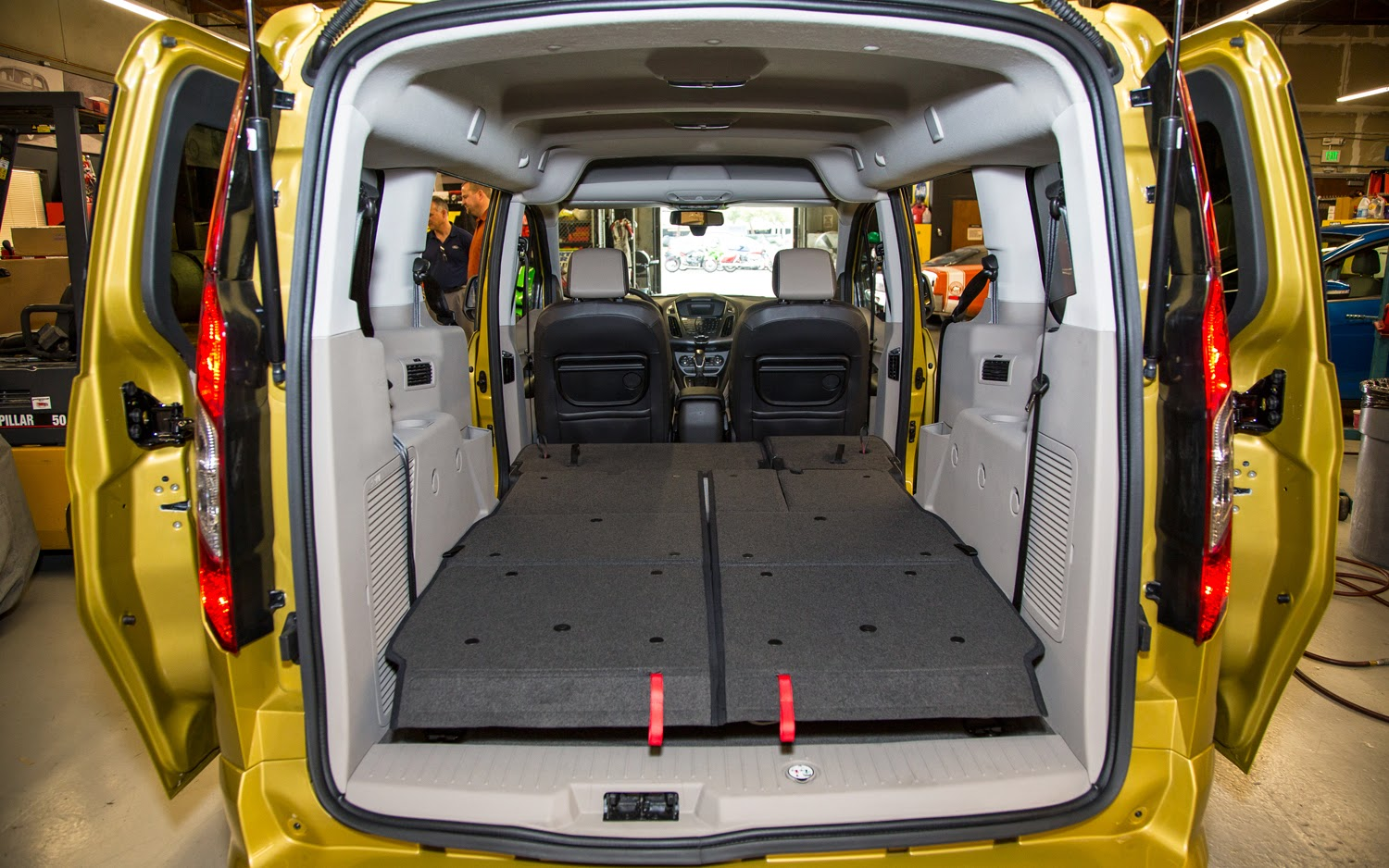 2014 ford transit connect height measurements