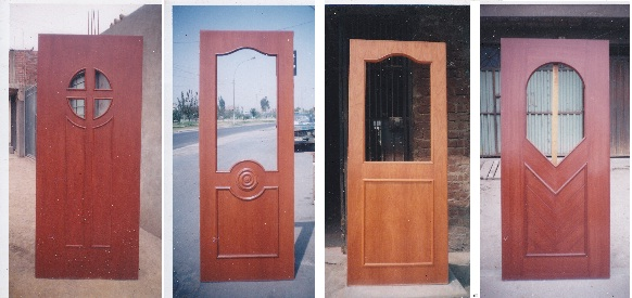 Puertas de madera puertas madera for Modelos de puertas de madera