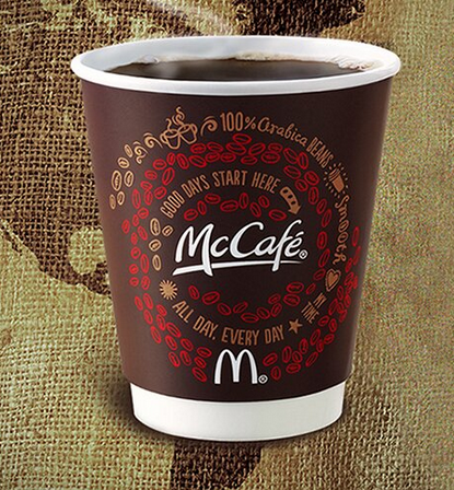 mcdonalds and the mccafe coffee initiative essay With freshly brewed coffee, smoothies, and shakes, mccafé items are guaranteed to make your day grab a beverage today.