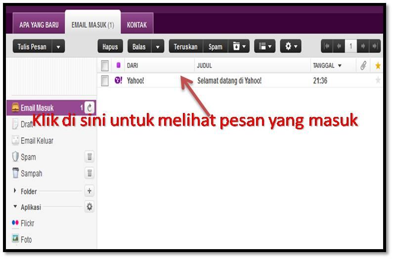 Begitulah Cara Membuat Email Yahoo Baru Semoga aja membantu dan ...