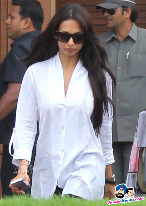 Malaika Arora - Celebs Pay Tribute to Rajesh Khanna