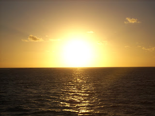 Is the sun rising or setting in your life at the moment?