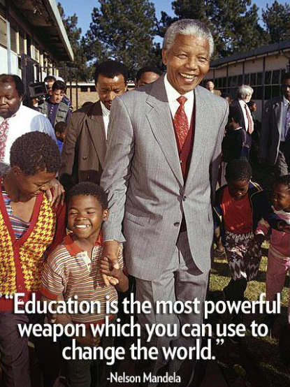 essay on nelson mandela as a leader