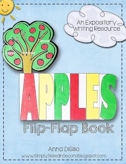 apple flip flap book