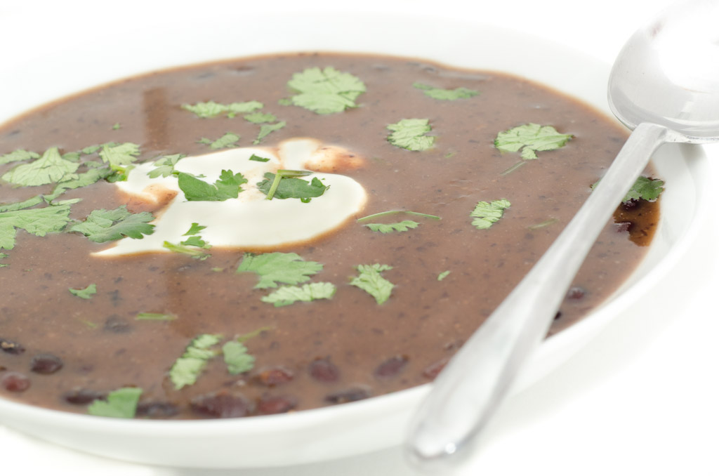 stuart webster photography: Southern Beach Black Bean Soup