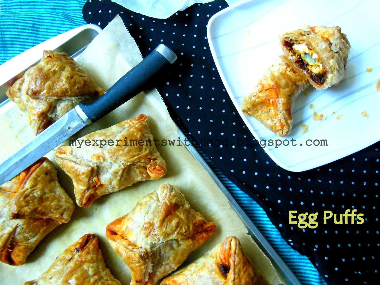 how to make kerala egg puffs