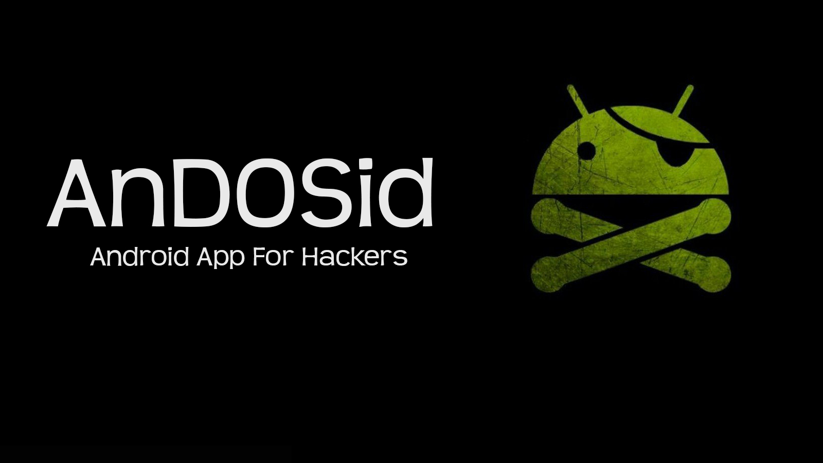 Andosid Android App For Hackers Effect Hacking