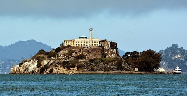 Ilha de Alcatraz em San Francisco, Califórnia