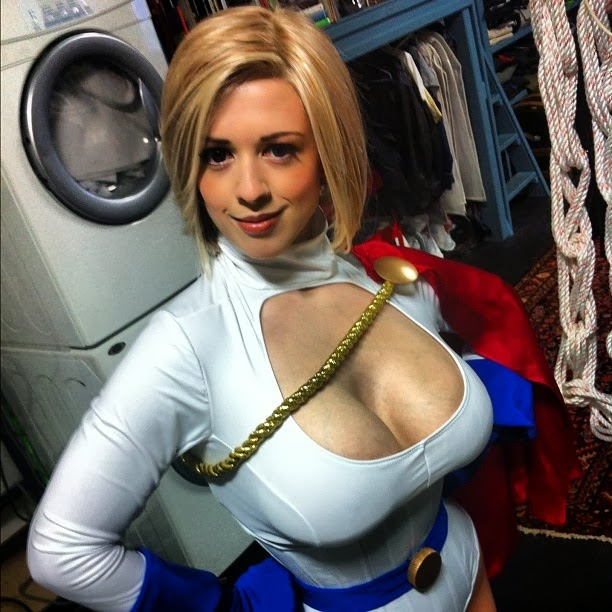 Power girl larkin love cosplay as