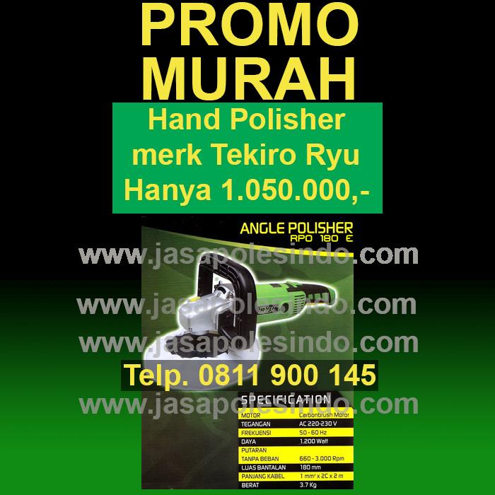 Promo hand polisher murah