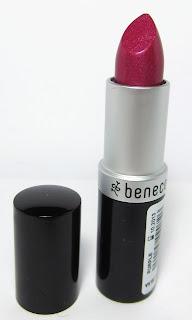 [Swatches] Benecos Natural Lipstick purple
