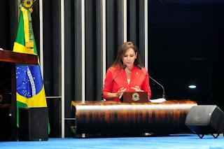 No Senado, Sandra Braga destaca investimentos do MME em energia elétrica no Amazonas