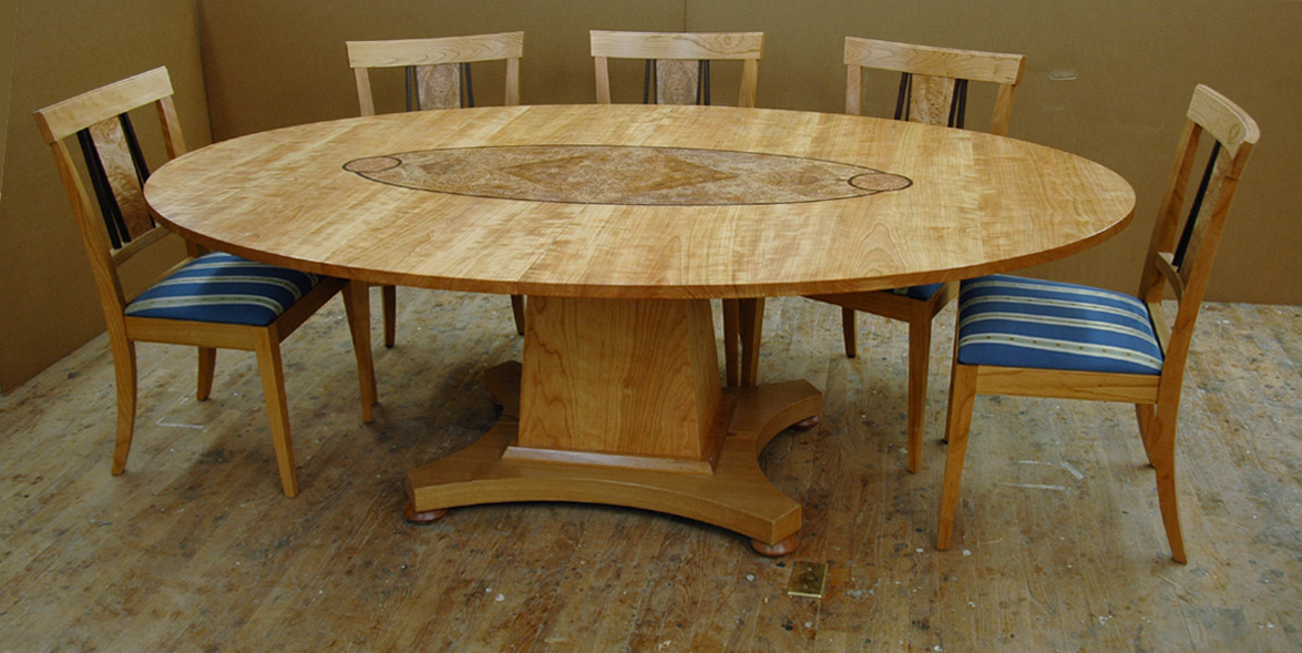 Custom Cherry Dining Room Table