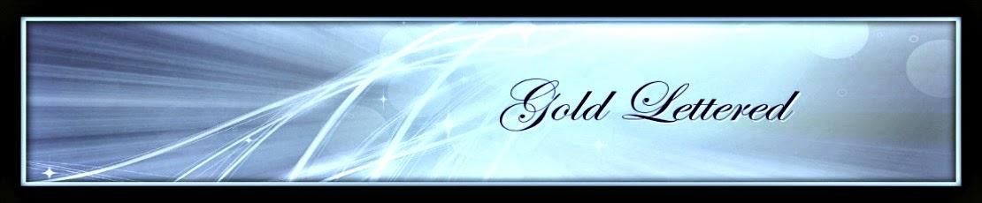 Gold-Lettered