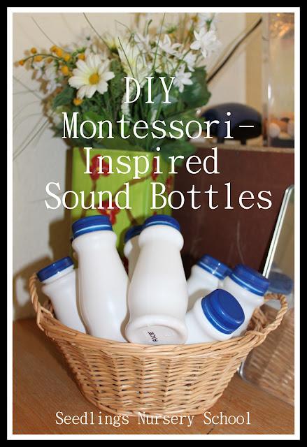 seedlings nursery school diy montessori inspired sound bottles. Black Bedroom Furniture Sets. Home Design Ideas