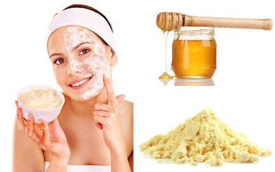 Homemade facial mask for Natural Acne treatment