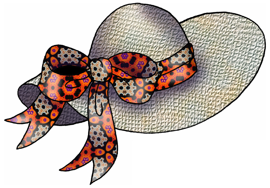 clipart easter bonnets - photo #23