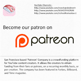 Support us || Become our patron