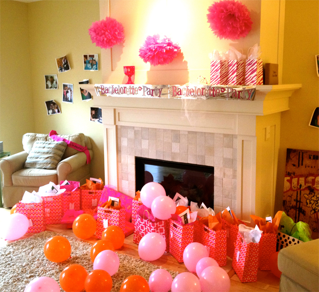 Isn 39 t that charming katie 39 s bachelorette party for Bachelor party decoration