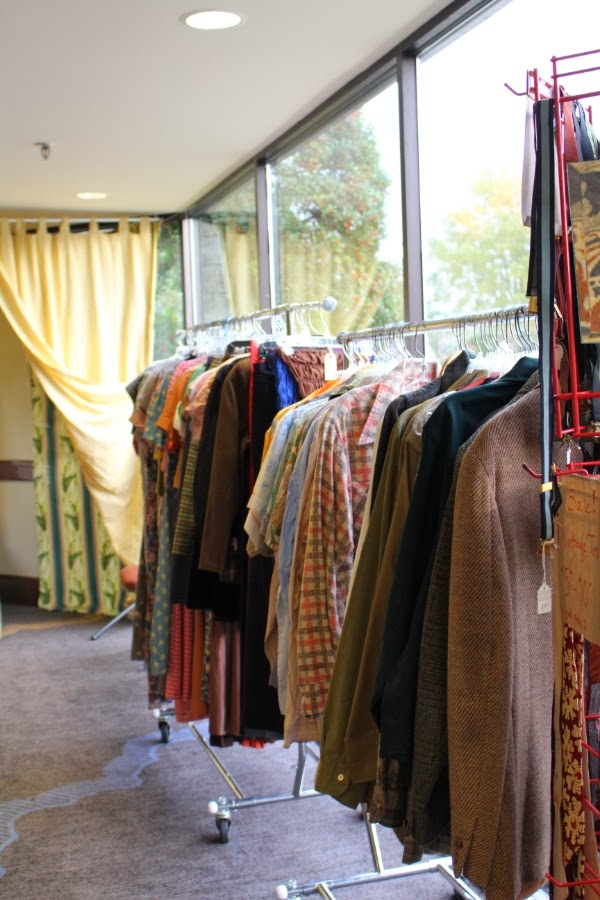 Raleigh Vintage Clothing Booth