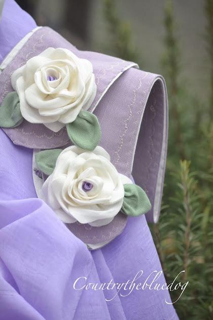 Ambrasse con rose per tende