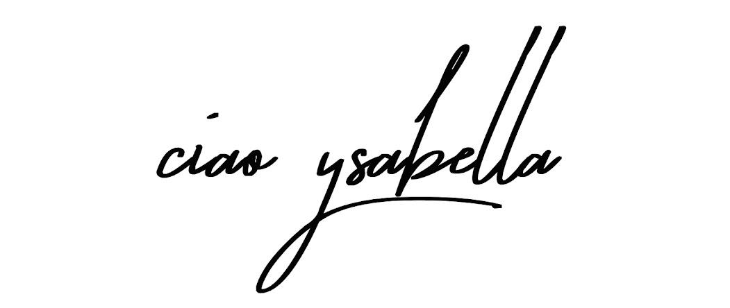 CIAO YSABELLA