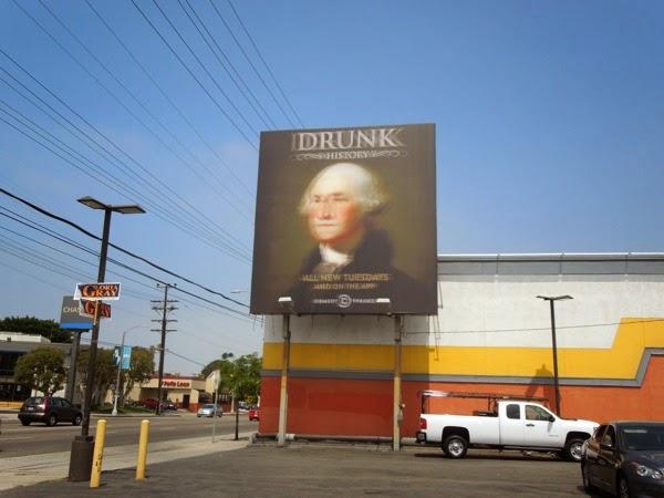 Drunk History season 2 billboard