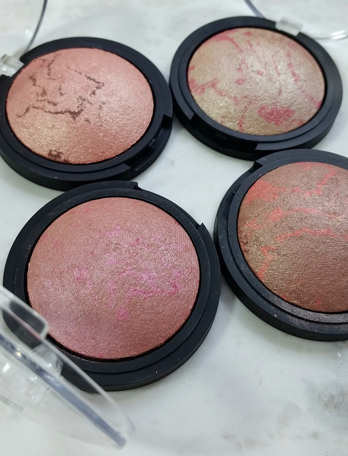 elf Baked Blush Review & Swatches