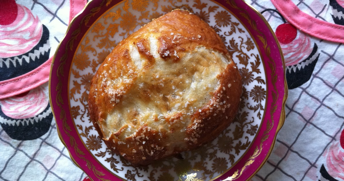 bretzel rolls | the baked life