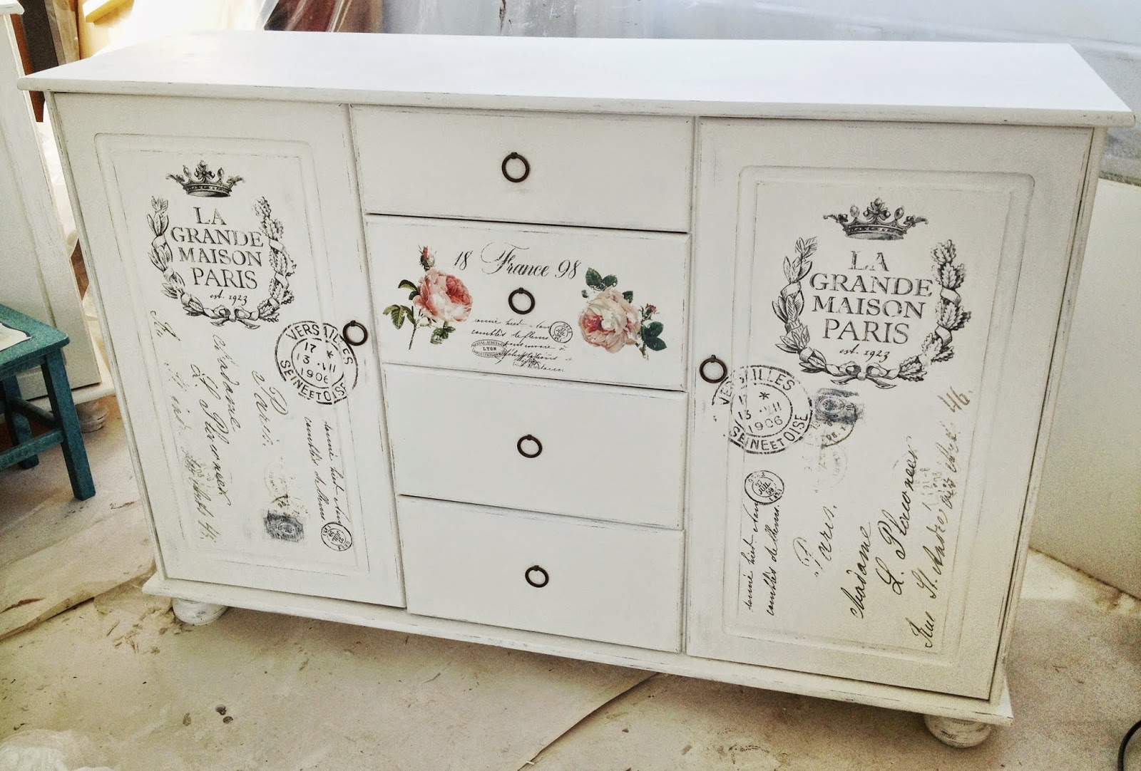 meubles shabby chic. Black Bedroom Furniture Sets. Home Design Ideas