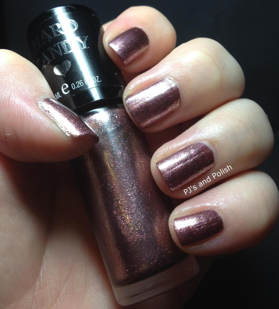 Hard Candy Crush on Raisin Foil Metallic Seche Vite