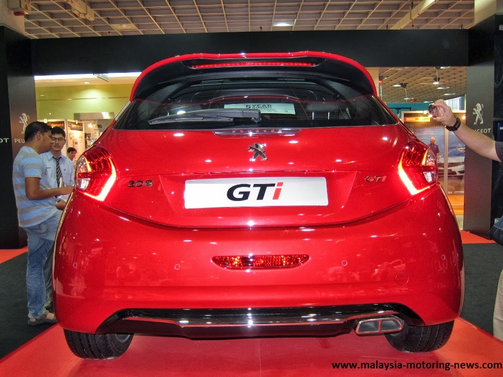 New Myvi Red >> Malaysia Motoring News: Peugeot 208 GTi Launched in Malaysia