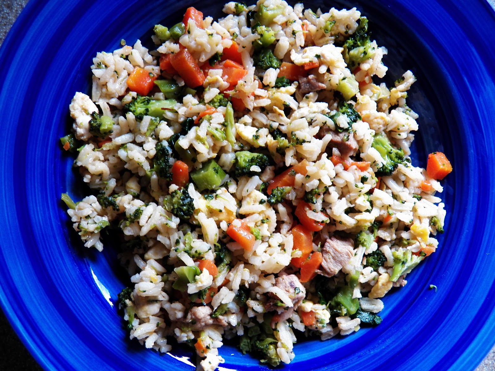 how to make veg fried rice with leftover rice