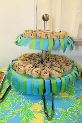 duck baby shower theme lilly pulitzer