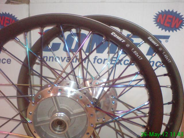 Velg Comet Brown Ruji Pelangi Untuk Satria FU ~ Variasi Sepeda Motor
