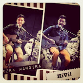 Say Hi to EzraMandira! Guitarist of Hivi♫