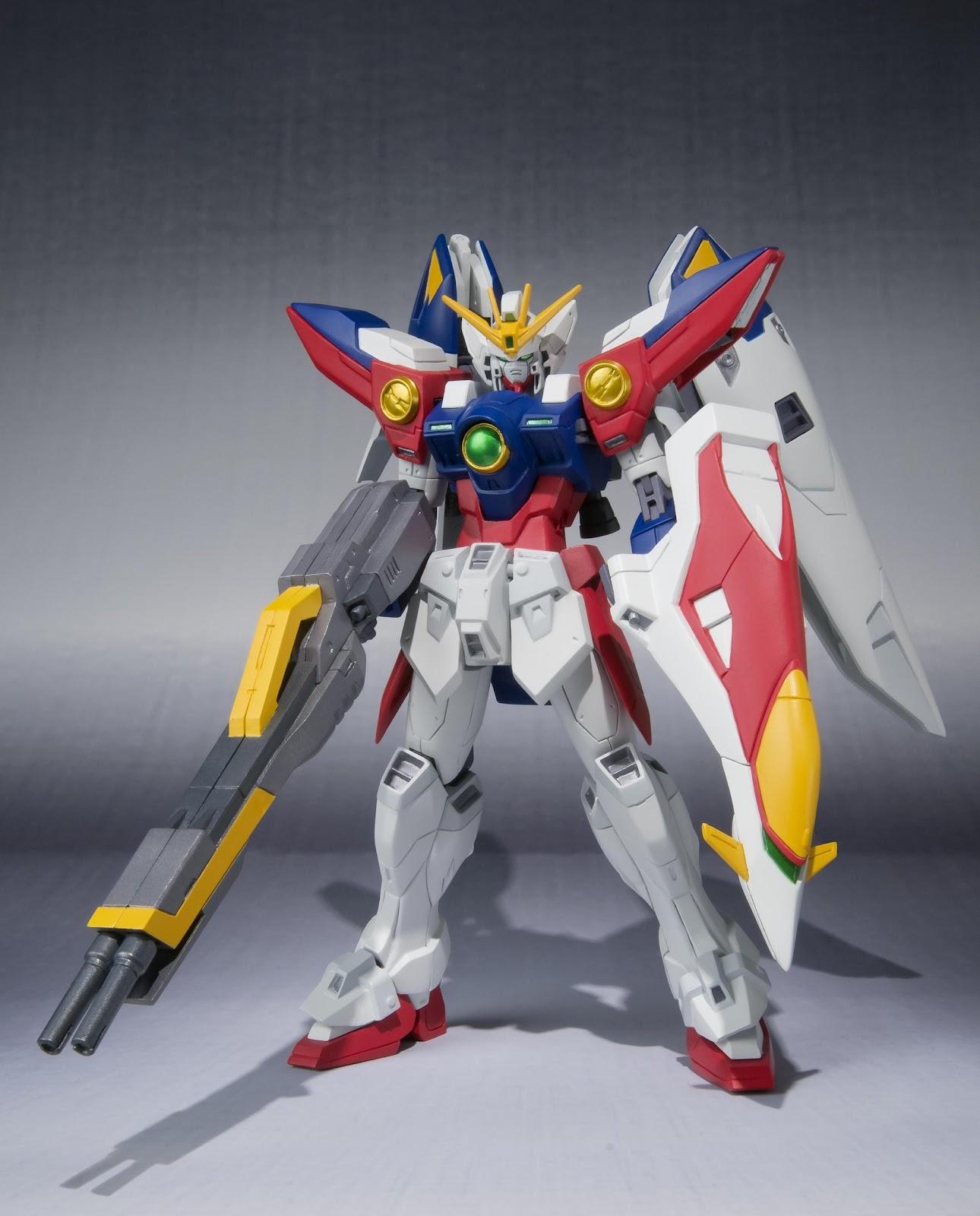 USED Robot Spirits SIDE MS Wing Gundam Zero Bandai
