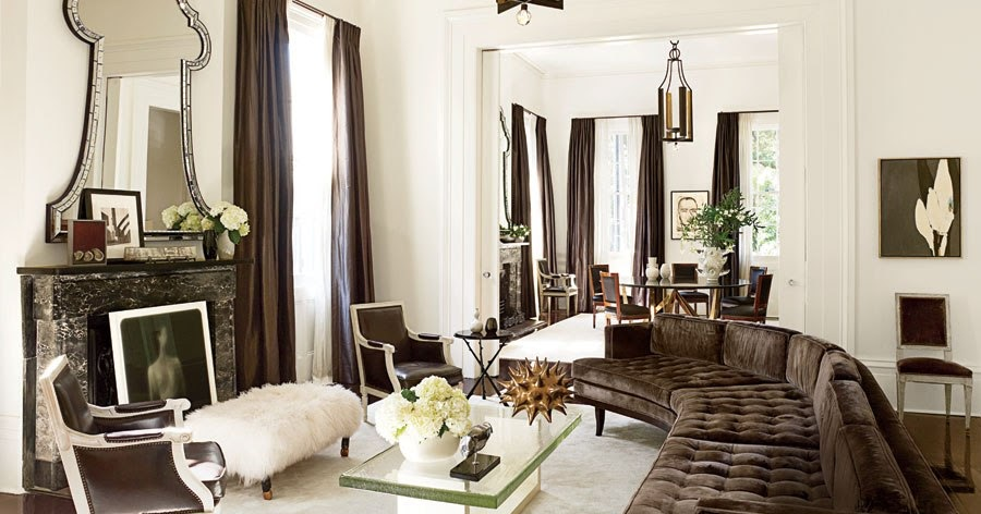 T h e v i s u a l v a m p architectural digest for Klaus k living room