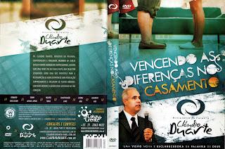 capa Download – Pr. Cládio Duarte   Vencendo as  Diferenças no Casamento – DVDRip AVI