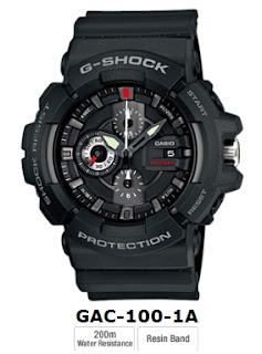 Jam tangan g-shock GAC-100