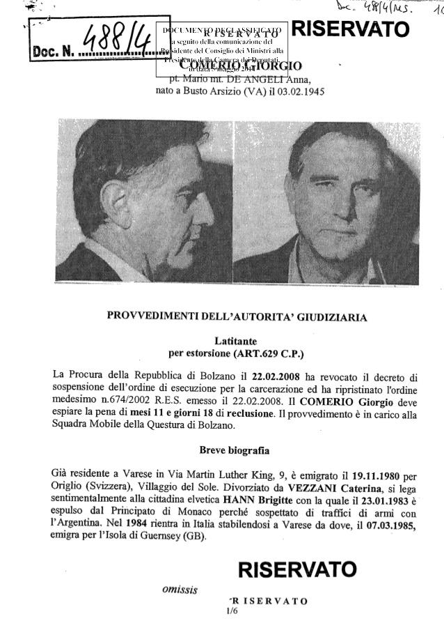 「Giorgio Comerio」的圖片搜尋結果