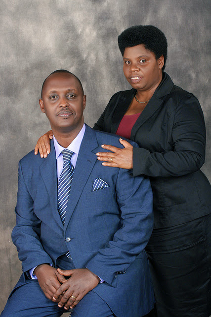 Mr & Mrs Rev. Edmund and Faith KIVUYE