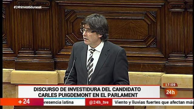 El president de la Generalitat de Cataluña no promete fidelidad al rey ni a la Constitución