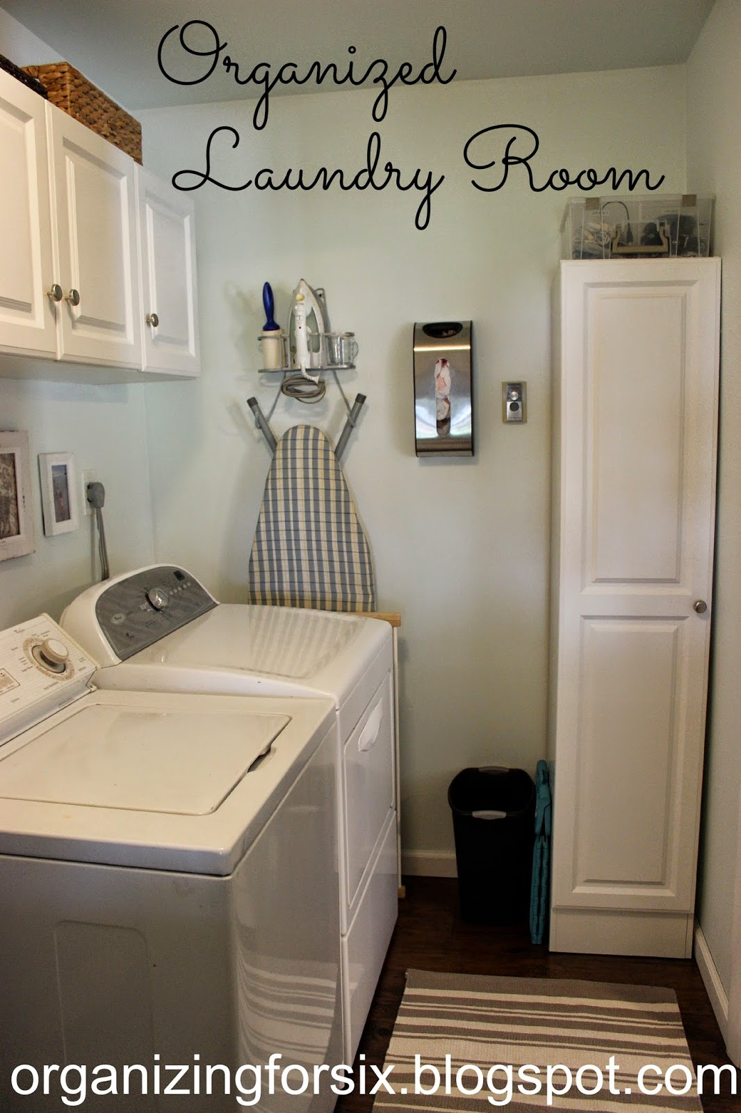 Organizing for six organized laundry room for Room organization